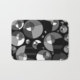 Bubble Grey 11 Bath Mat