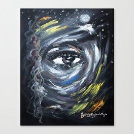 Eye on my Mood Canvas Print