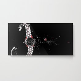Time in a Space Continuum Metal Print