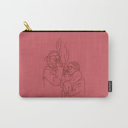 Red Smoking Olsens Carry-All Pouch