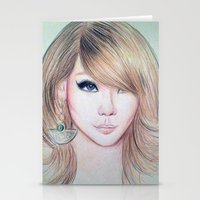 2ne1 Stationery Cards featuring CL (2NE1) - Lee Chae Rin by Hileeery
