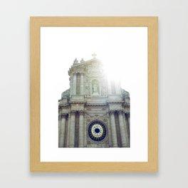 Eglise Saint Paul, Le Marais, Paris II Framed Art Print