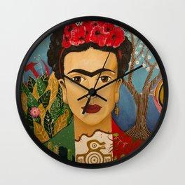 Bandera Frida Wall Clock