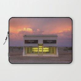 Marfa at sunset Laptop Sleeve