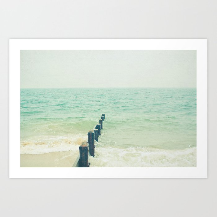 Looking Out to Sea Art Print