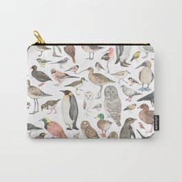 Birds of the world Carry-All Pouch