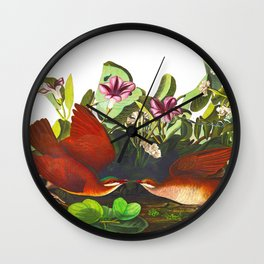 Key-west Dove Wall Clock