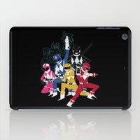 power rangers iPad Cases featuring power glove rangers by Louis Roskosch