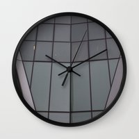 bow Wall Clocks featuring Bow by RMK Photography