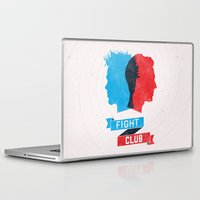 fight Laptop & iPad Skins featuring Fight Club by Bill Pyle