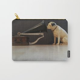 Nipper is listening-His Master's Voice Carry-All Pouch