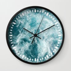 Sea Wall Clock