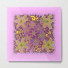 bungong jeumpa series: pink Metal Print