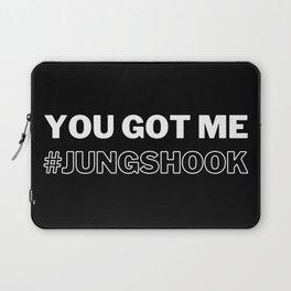 Jungkook, You Got me Jungshook, BTS Jungkook Laptop Sleeve