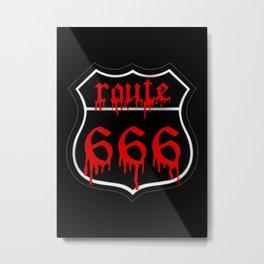 Route 666 Metal Print