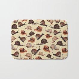 A Slew Of Snails Bath Mat