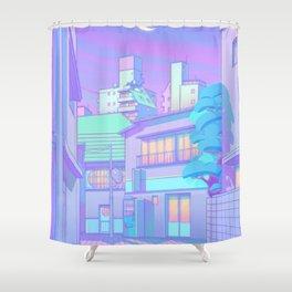 Night in Utopia Shower Curtain