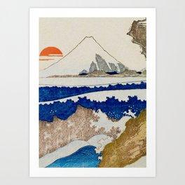 The Coast Searching Art Print