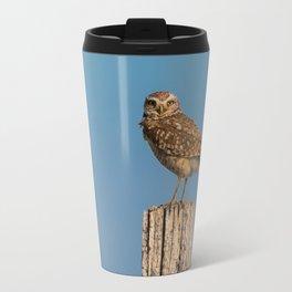 Burrowing owl Travel Mug