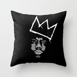 Biggie Basquiat Throw Pillow