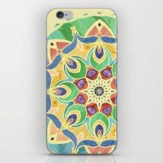 Sand and Silk Mandala 2 iPhone & iPod Skin