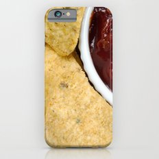 Nachos and Chilli Dip Overhead iPhone 6s Slim Case