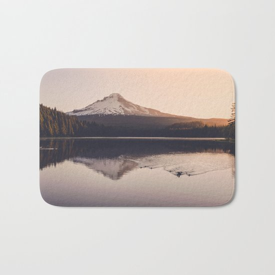 Wild Mountain Sunrise Bath Mat