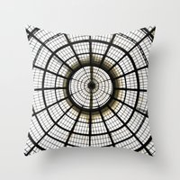 milan Throw Pillows featuring Milan by Alev Takil