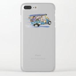 Tuk Tuk Clear iPhone Case