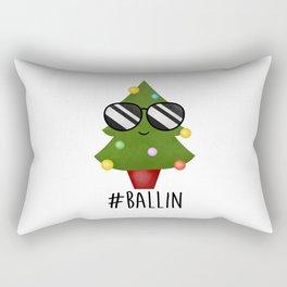 #Ballin Rectangular Pillow