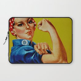 We Can Do It - WWII Poster Laptop Sleeve