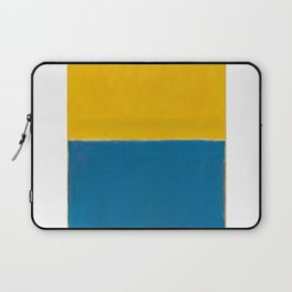 Untitled (Yellow and Blue) by Mark Rothko Laptop Sleeve