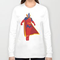 gladiator Long Sleeve T-shirts featuring Confidence!  Kallark, The Gladiator by Timmy D. Matias