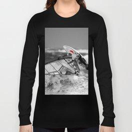 surf santa - wind surf Long Sleeve T-shirt