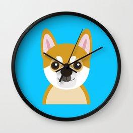 Shiba Wall Clock