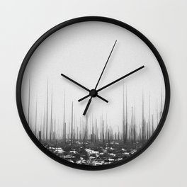 The King's Ire Wall Clock