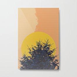 Abstract pine tree Metal Print