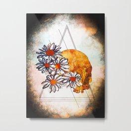 Dead in the Daisies Metal Print
