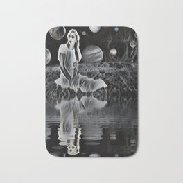 The Ghost of a Goddess, Ghostly Planetary Smoke of Dreams Bath Mat