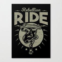 Rebellion ride Canvas Print