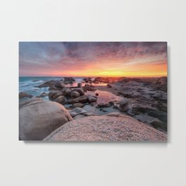 Camps bay sunset Metal Print