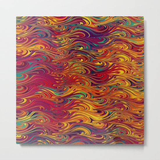 Wave Of Colors 2 Metal Print