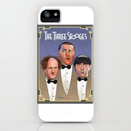 The Three Stooges iPhone Case
