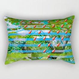 Landscape of My Heart (segment 2) Rectangular Pillow