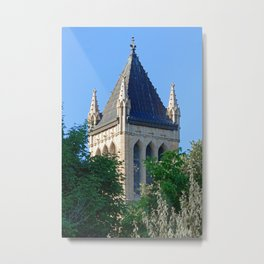 Iowa State University Campanile Close Up Metal Print