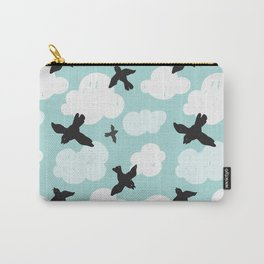 Flying blackbirds Carry-All Pouch
