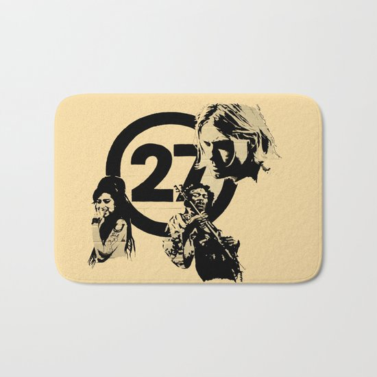 27 club Bath Mat