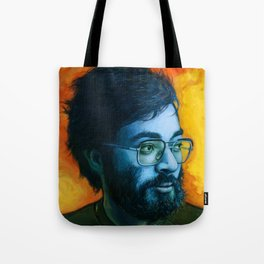 Asian Dude with Glasses Tote Bag