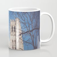 brussels Mugs featuring Brussels Cathedral by Ghdv Grafias