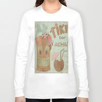 aloha Long Sleeve T-shirts featuring Aloha by Robin Curtiss